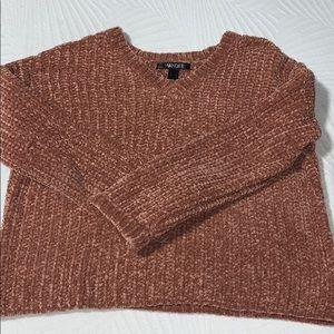 Rose pink sweater